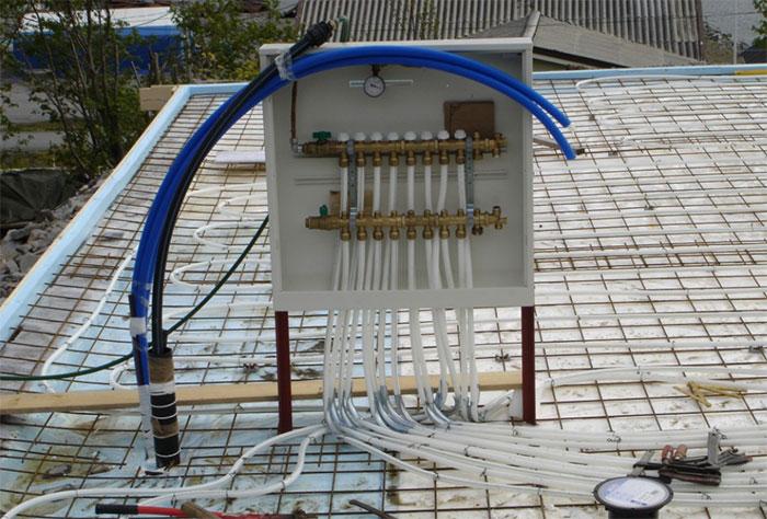 Moelven Rørservice utfører vannbåren varme